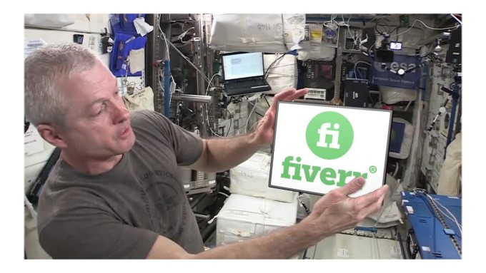 have an astronaut deliver your message from space - Funny gigs on Fiverr