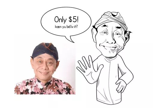 Get a caricature drawing of yourself - Funniest gigs on Fiverr
