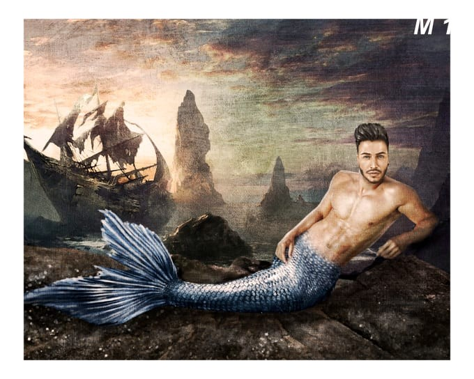 I will draw you as a mermaid - Funniest gigs on Fiverr