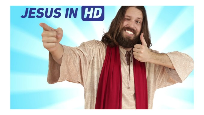 Have Jesus deliver your message - funniest gigs on Fiverr