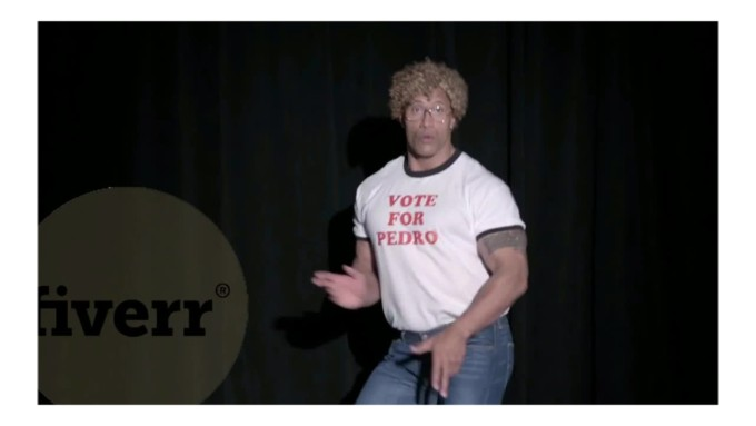 Message from the Rock - funniest gigs on fiverr