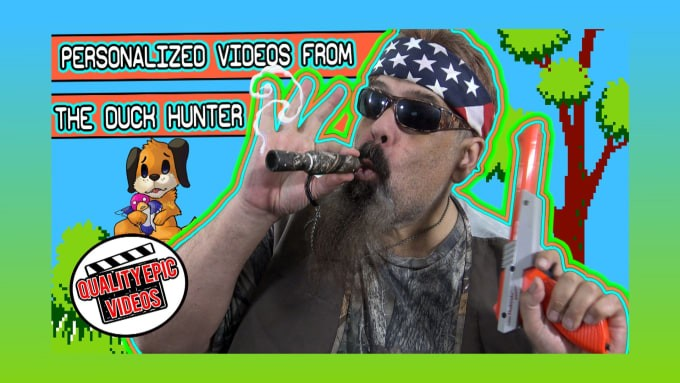 message from wacky duck hunter nintendo fiverr