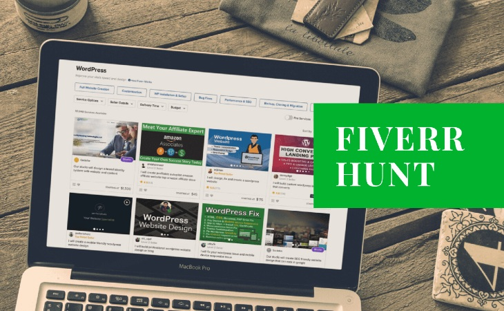 We hired designers on Fiverr to create banners for our articles - Huntlancer