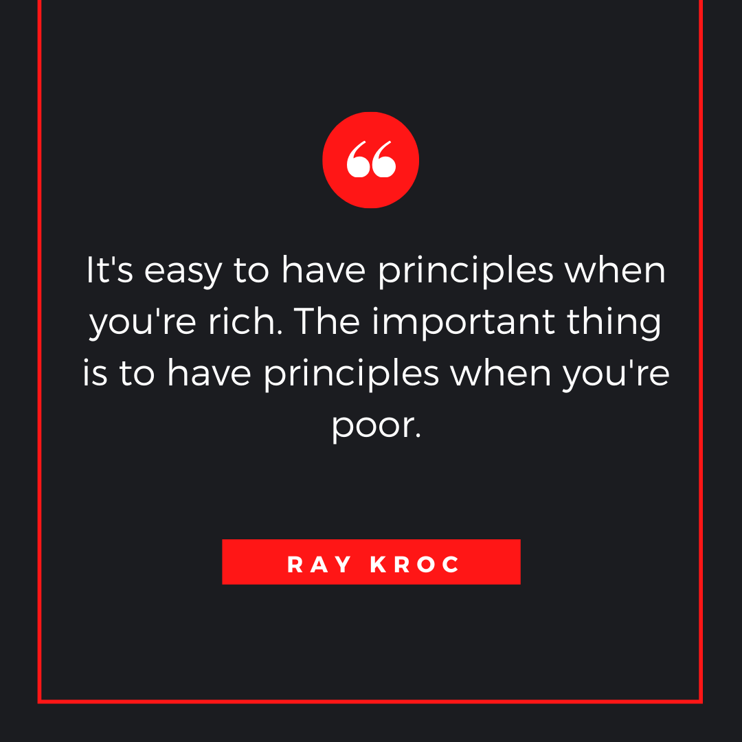 Quote by Ray Kroc - 50 Inspirational Quotes by highly successful entrepreneurs - Huntlancer | On the hunt for freelance talent