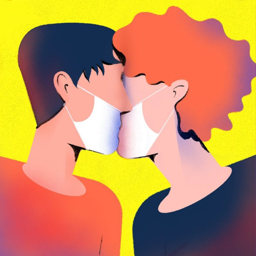 Love in the time of Coronavirus by Giovanni Gastaldi, Italy | Coronavirus Inspired Artworks by Freelancers Around the World