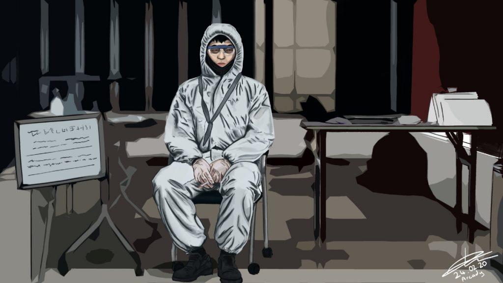 Coronavirus Illustration by Denizhan De Asis, Turkey | Coronavirus Inspired Artworks by Freelancers Around the World