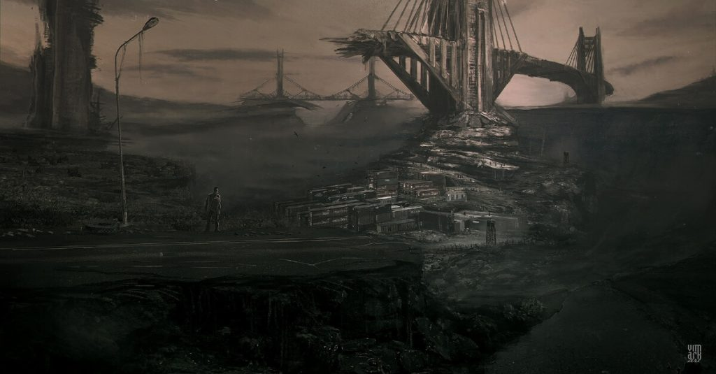 A.F.T.E.R. by Max Mitenkov, Belarus | At World's End: 25 Post Apocalyptic Art Scenes Envisioned by Freelance Artists