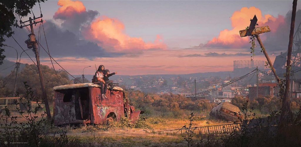 AFTER 2089 by miguel membreño, El Salvador | At World's End: 25 Post Apocalyptic Art Scenes Envisioned by Freelance Artists
