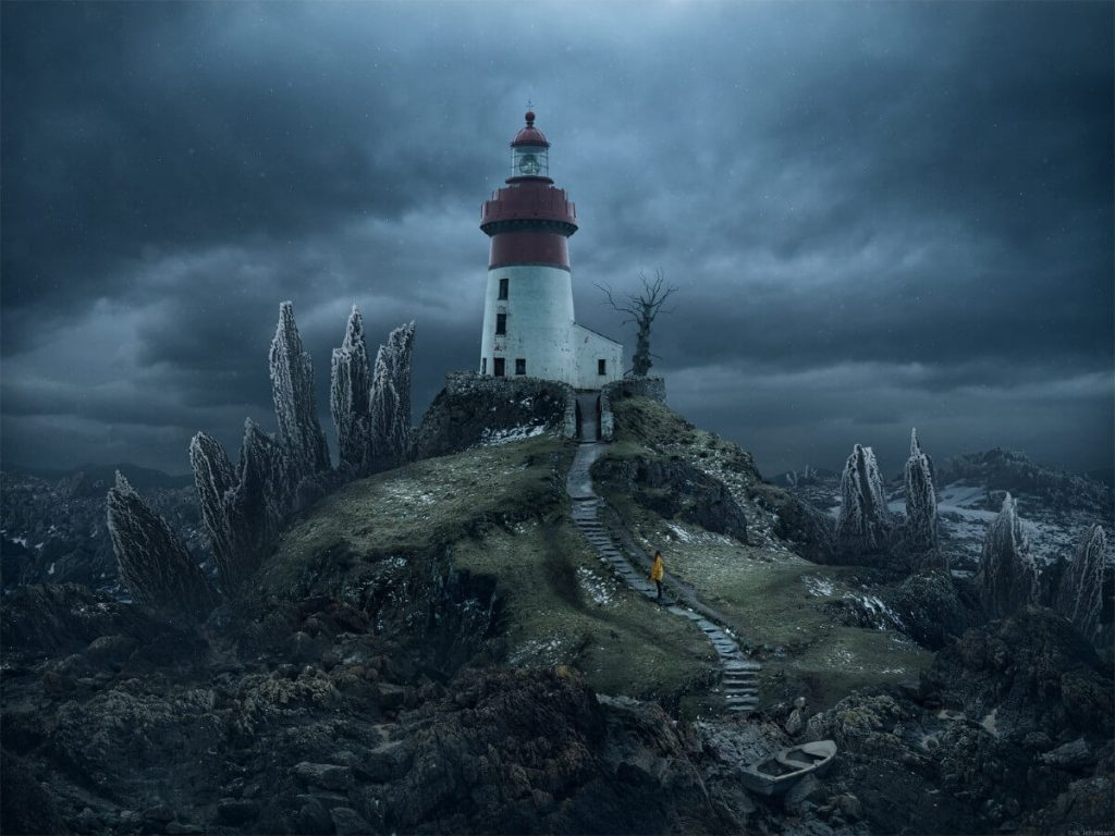 Last one Standing by Erik Johansson, Sweden | At World's End: 25 Post Apocalyptic Art Scenes Envisioned by Freelance Artists