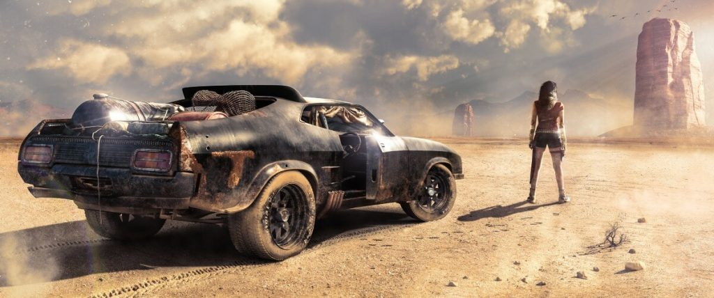 Desolation by Amaru Zeas-Siguenza, USA | At World's End: 25 Post Apocalyptic Art Scenes Envisioned by Freelance Artists