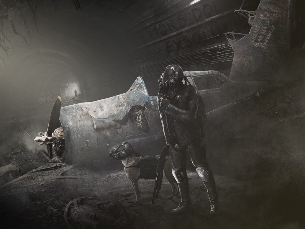 Metro 2033 by Rafał Bochniak, Poland | At World's End: 25 Post Apocalyptic Art Scenes Envisioned by Freelance Artists