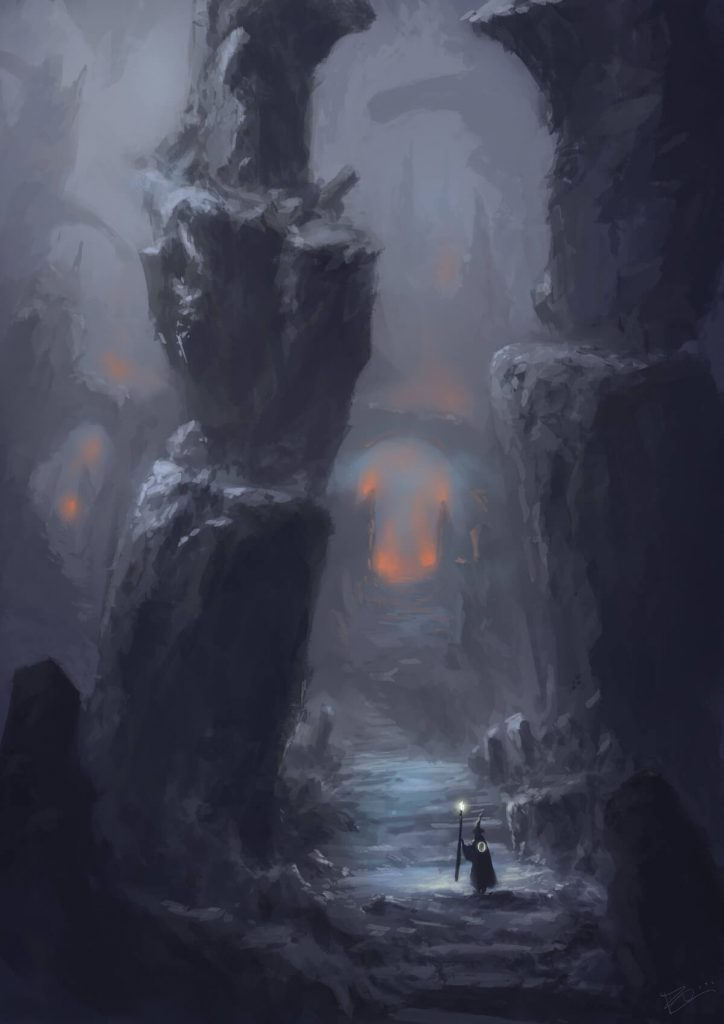 Moria by Federico Cimini, Italy | The Lord of The Rings Fan Art Collection 2020