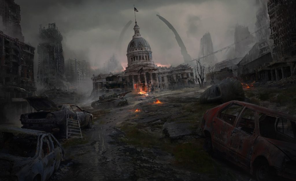 Postapocalyptic St.Louis by Thu Berchs, United Kingdom | At World's End: 25 Post Apocalyptic Art Scenes Envisioned by Freelance Artists