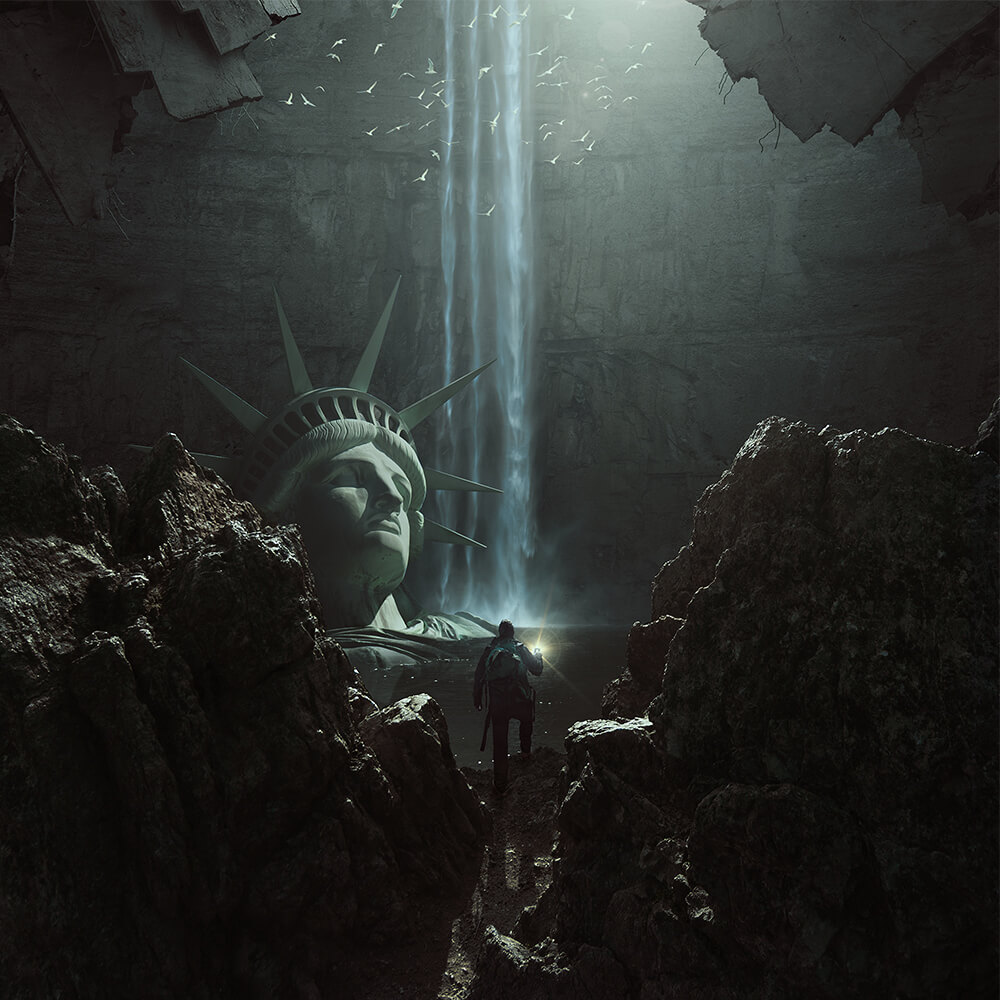 The Expedition by Michał Karcz, Poland | At World's End: 25 Post Apocalyptic Art Scenes Envisioned by Freelance Artists