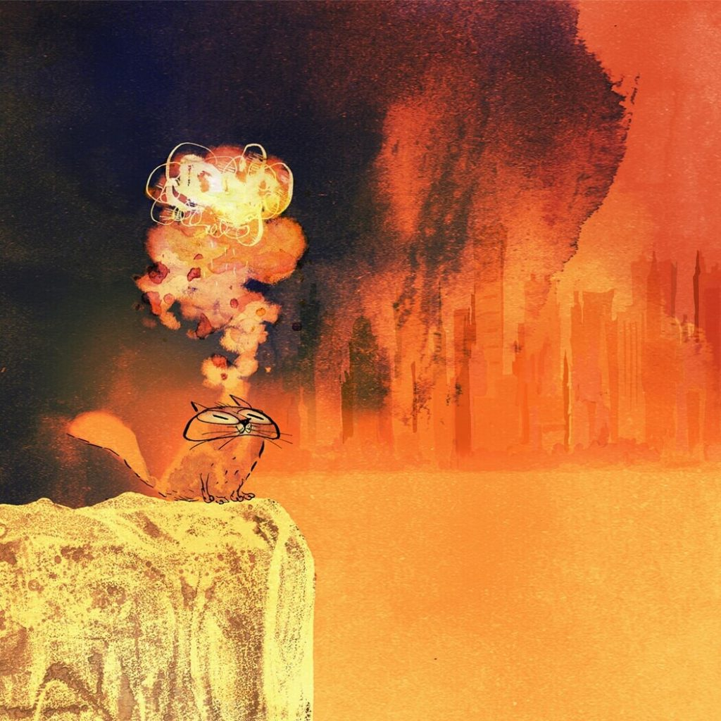 The last night of the end of the world by Fintan Taite, Ireland | At World's End: 25 Post Apocalyptic Art Scenes Envisioned by Freelance Artists