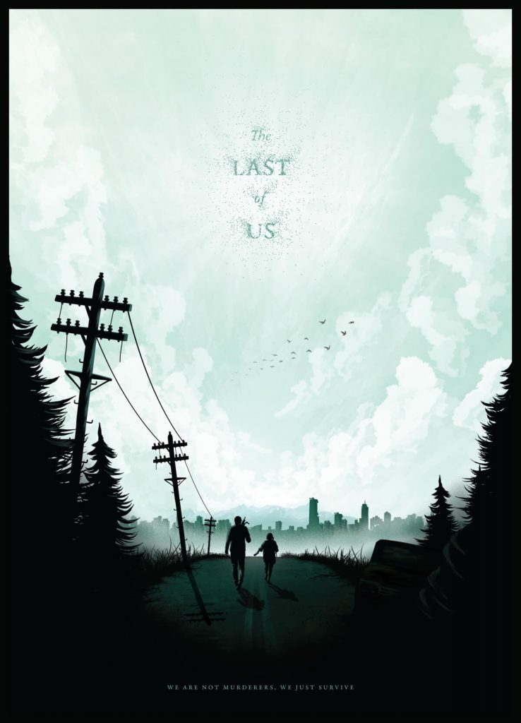 The Last of Us Poster by Conor Smyth, Ireland | At World's End: 25 Post Apocalyptic Art Scenes Envisioned by Freelance Artists