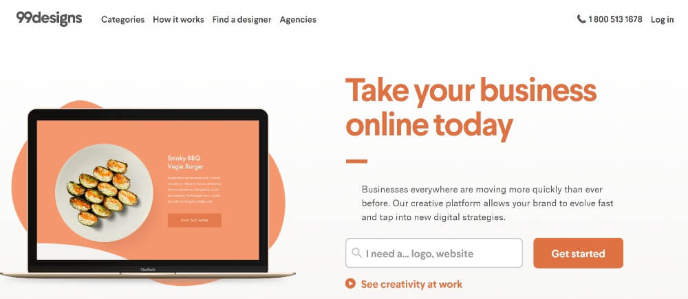 99Designs on Best Freelance Websites to Start Your Freelance Career in 2020 by Huntlancer