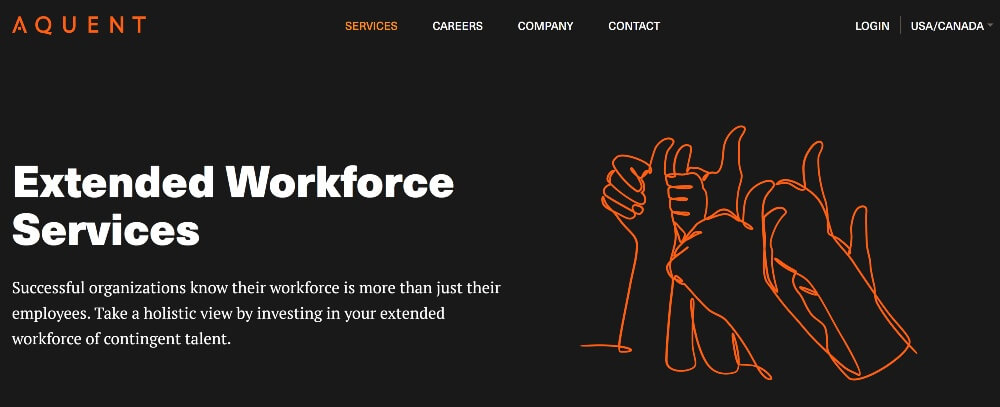 Aquent on Best Freelance Websites to Start Your Freelance Career in 2020 by Huntlancer