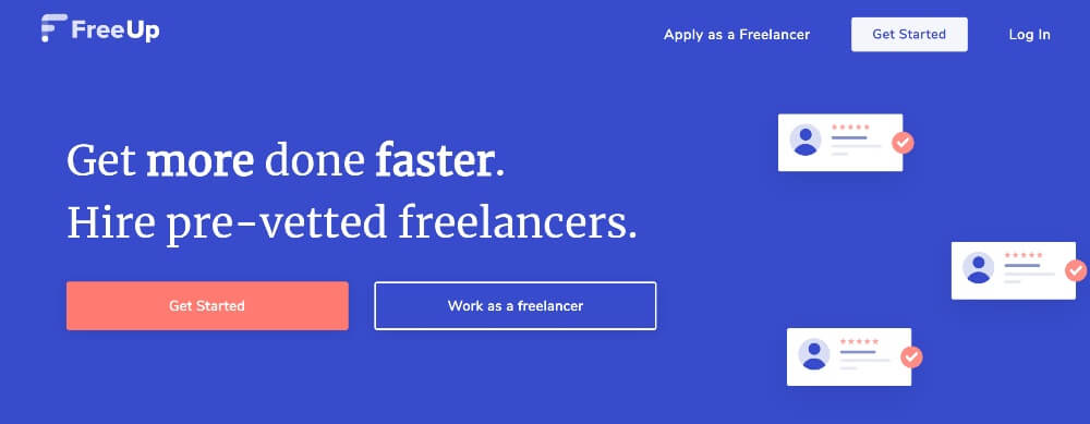 FreeUp on Best Freelance Websites to Start Your Freelance Career in 2020 by Huntlancer