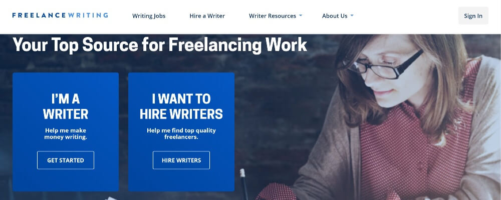 FreelanceWriting on 30 Best Freelance Websites to Start Your Freelance Career in 2020 by Huntlancer