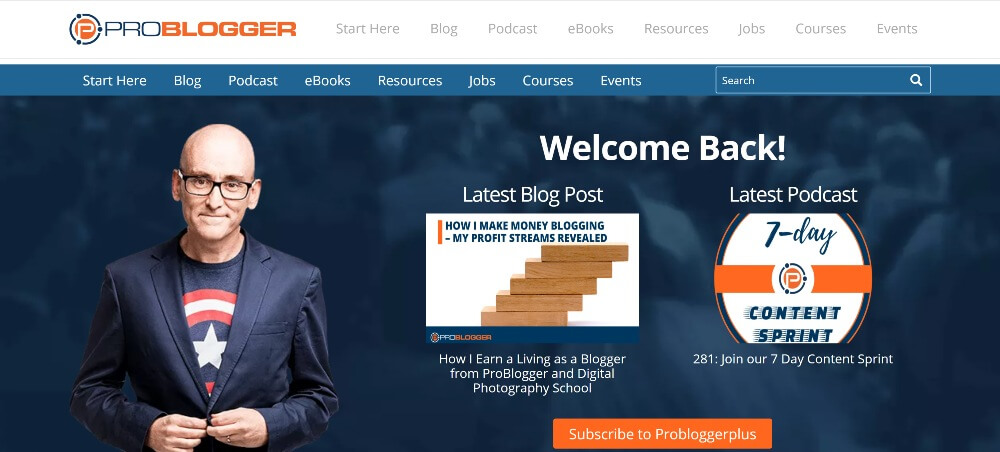 ProBlogger on 25 Essential blogs for freelancers in 2020 by Huntlancer