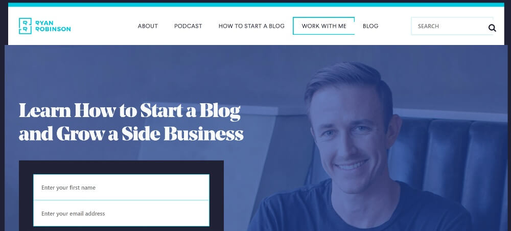 Ryan Robinson on 25 Essential blogs for freelancers in 2020 by Huntlancer