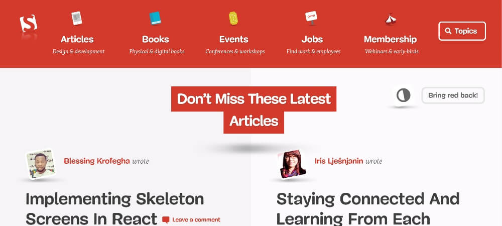 Smashing Magazine on 25 Essential blogs for freelancers in 2020 by Huntlancer