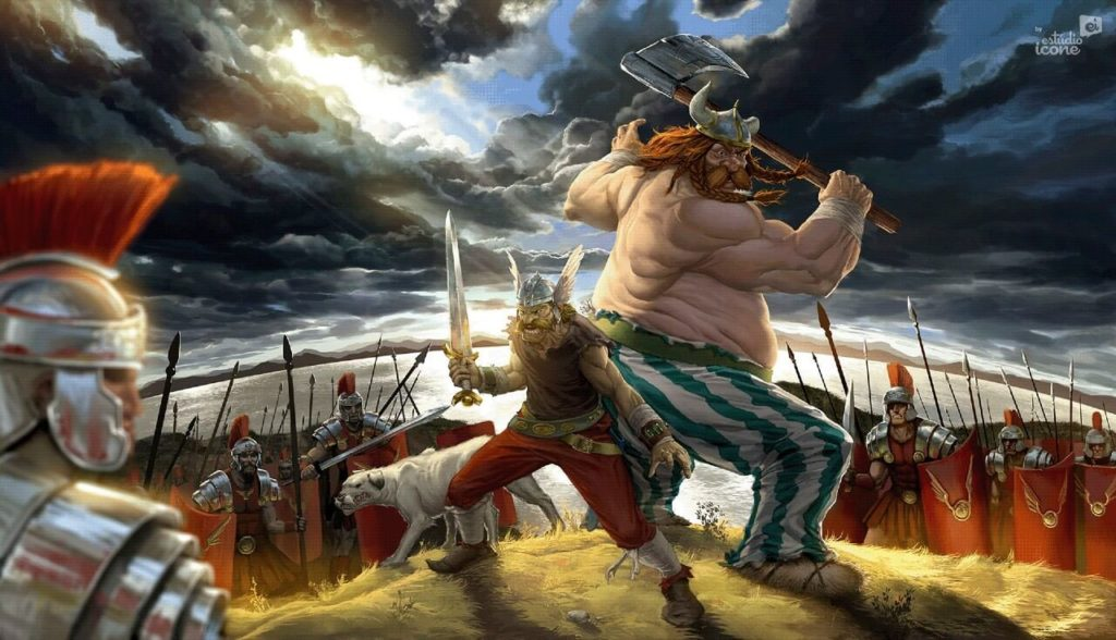 Asterix and Obelix by Estúdio Ícone, Brazil - Huntlancer