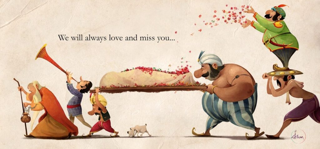 Indian version of Asterix and his friends by Ishan Trivedi, India - Huntlancer