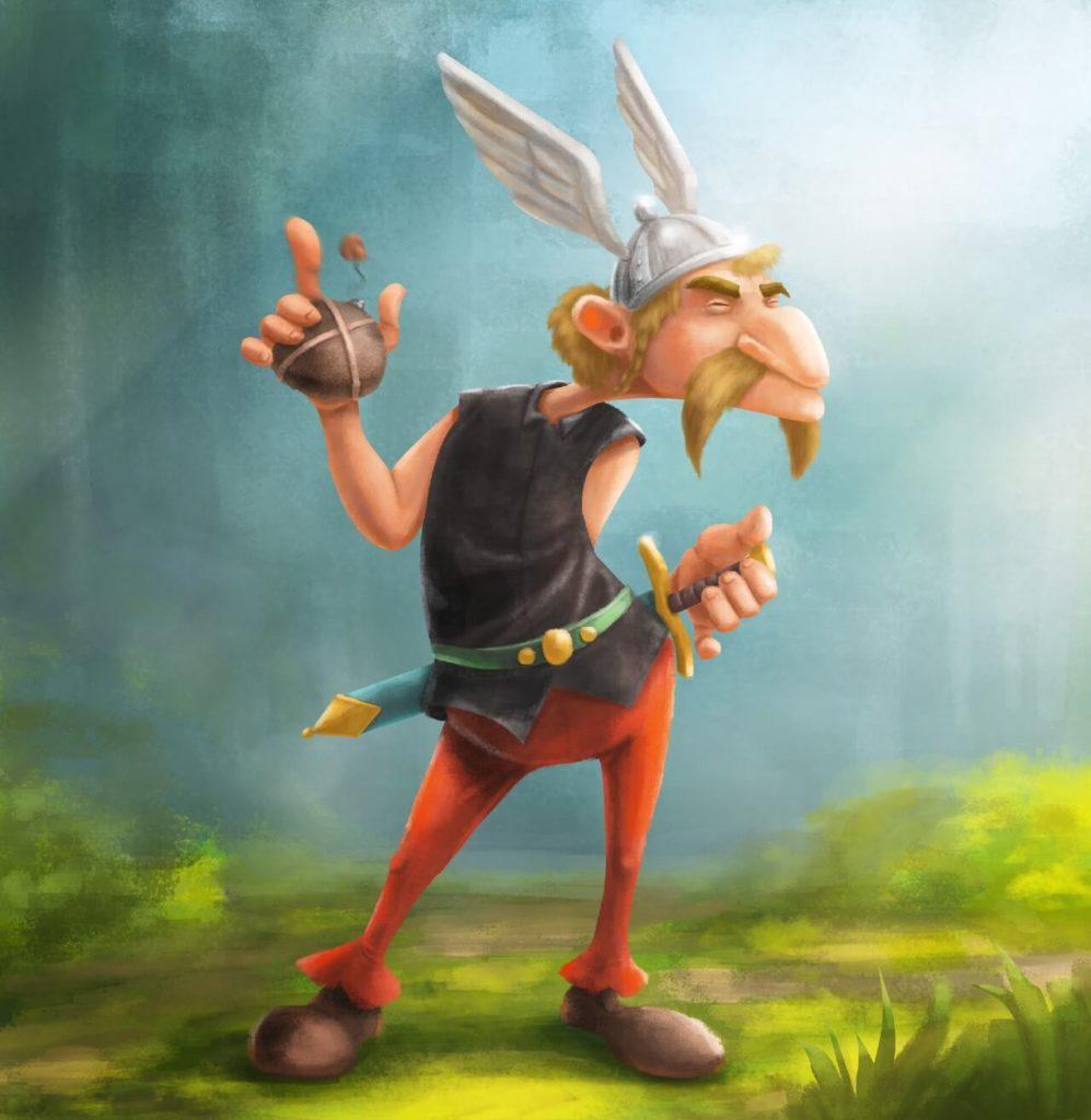 Asterix by Sebastian Meinecke, Canada