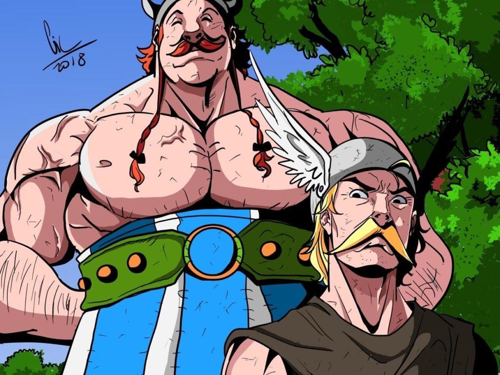 Asterix the Gaul by Gil Amorim on Huntlancer