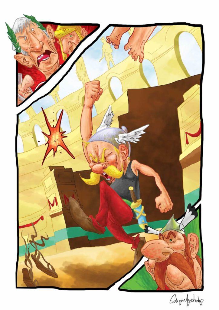 Asterix the Gaul by Edegar Agostinho, Brazil