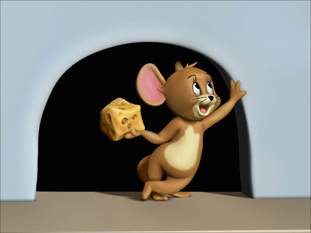 The World of Gene Deitch | Jerry Mouse by Namya Rathnakar, India