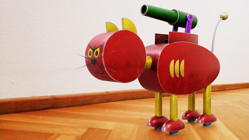 The World of Gene Deitch | Mechano by Volodymyr Borovkov, a 3D Modeling Artist from Germany