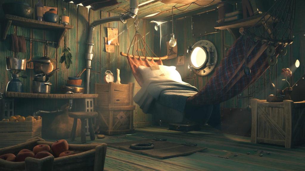 The World of Gene Deitch | Popeye's Cabin by Winnie M, USA