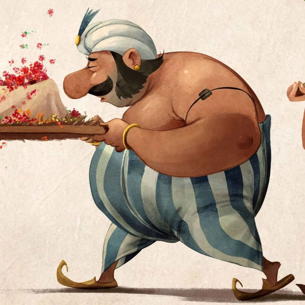 Indian version of Obelix by Ishan Trivedi, India