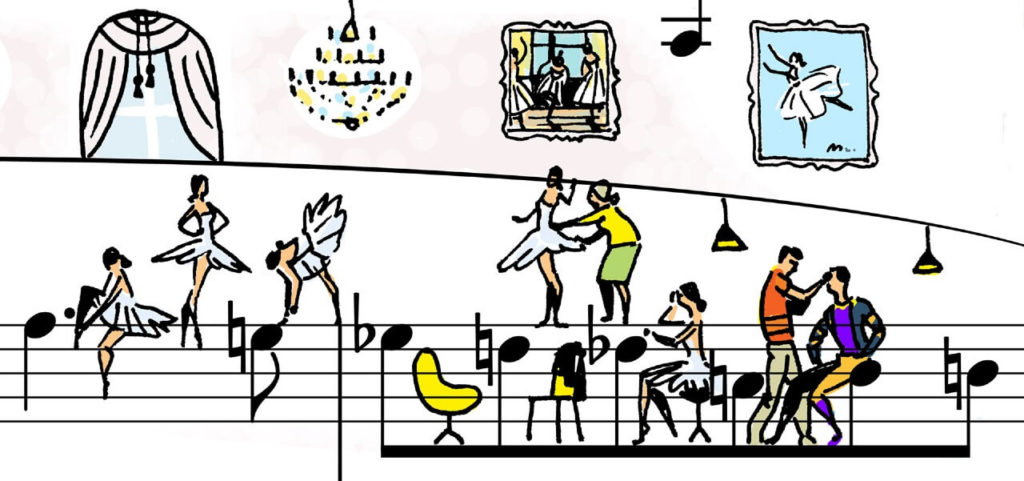 Sheet Music Art in Detail by Russian Studio 'People Too' - Excerpt 3 from Other Dances