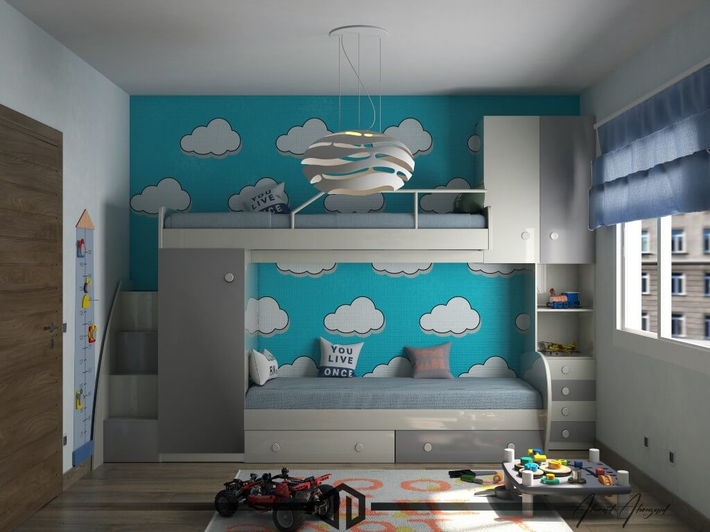Ahmad AbouZaid, Egypt | Freelance Interior Designers: 24 Fun and Stylish Children Room Decor Ideas