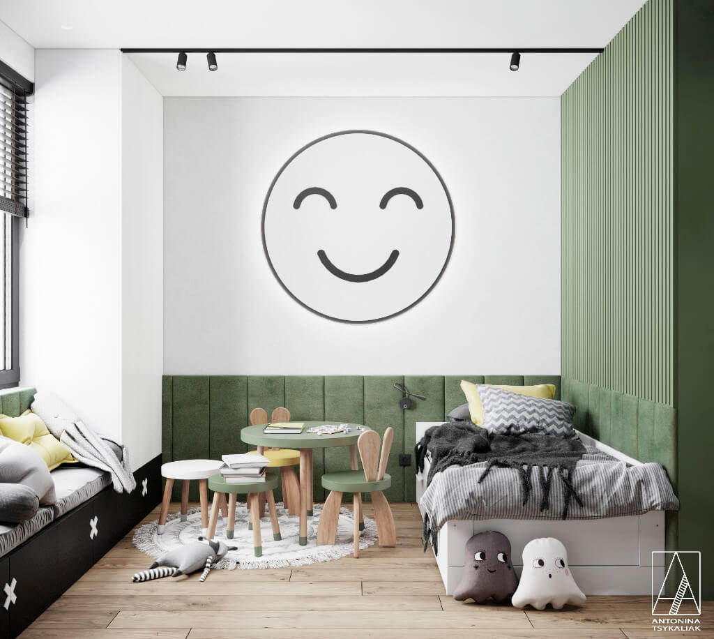 Antonina Tsykalia | Freelance Interior Designers: 24 Fun and Stylish Children Room Decor Ideas