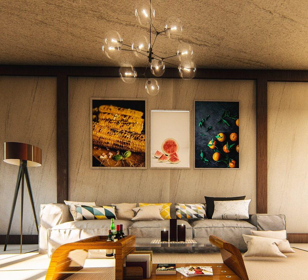 Modern Living Room Decor by Bishoy Emad, Egypt | Freelance Interior Designers: Inspiring Living Room Design Styles on Huntlancer