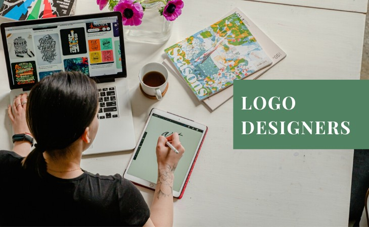 Creative Logo Designers to Hire Online Featured on Huntlancer