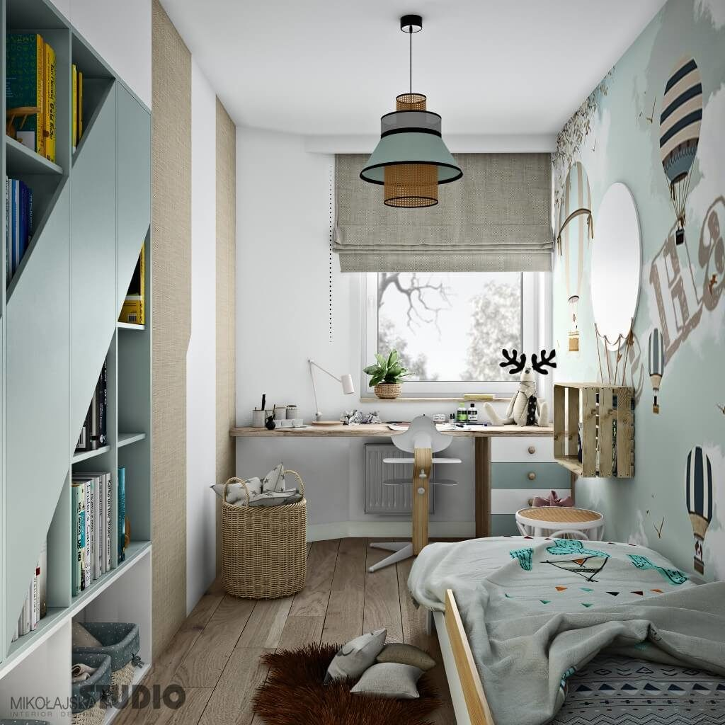 Karolina Prusaczyk, Poland | Freelance Interior Designers: 24 Fun and Stylish Children Room Decor Ideas