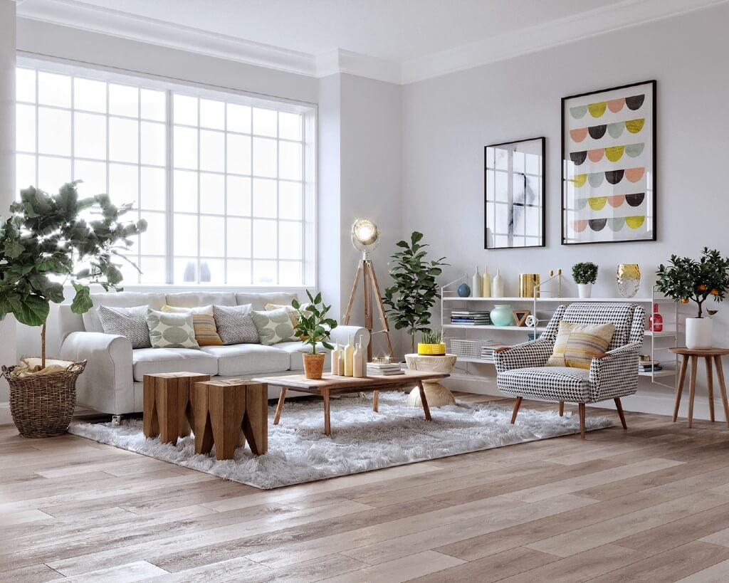 Scandinavian Style Living Room by Le Anh, Vietnam | Freelance Interior Designers: Inspiring Living Room Design Styles on Huntlancer