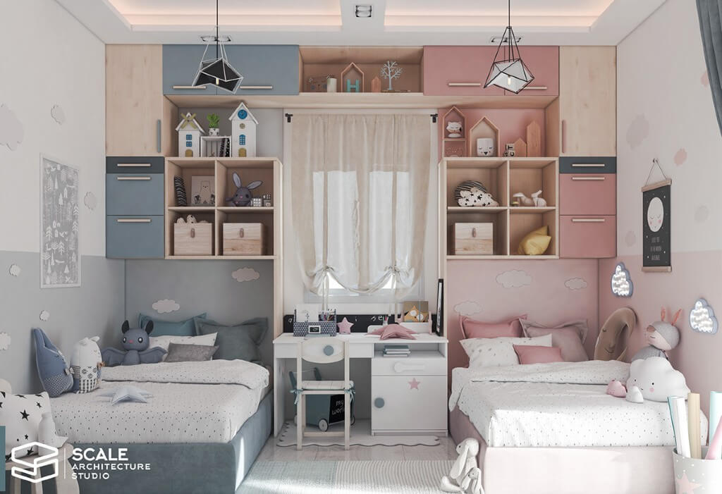 Nahla Elsaied, Egypt | Freelance Interior Designers: 24 Fun and Stylish Children Room Decor Ideas