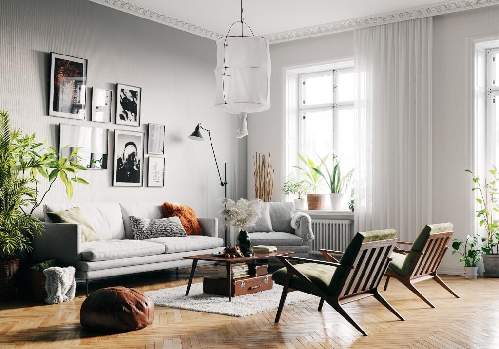 Scandinavian Living Room by Olexandr Melnyk, Ukraine | Freelance Interior Designers: Inspiring Living Room Design Styles on Huntlancer