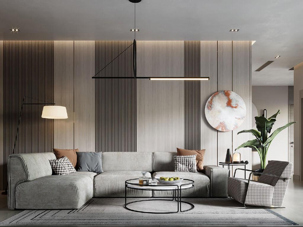 Modern Living Zone by Yasmeen Wassim, Egypt | Freelance Interior Designers: Inspiring Living Room Design Styles on Huntlancer