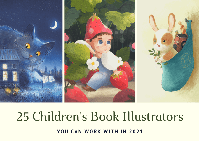 25 Creative Children's Book Illustrators you can work with in 2021