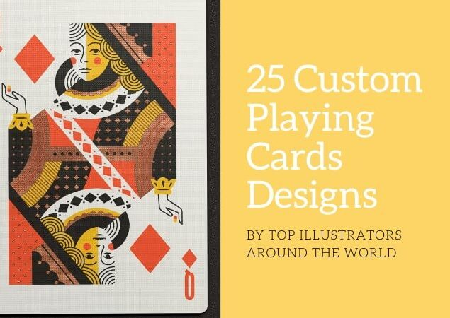 25 Custom Playing Cards Designs by Top Illustrators around the World