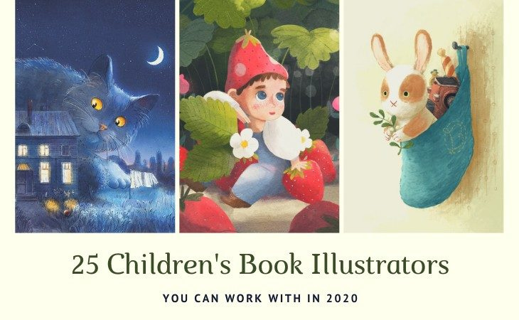 25 Creative Children's Book Illustrators you can work with in 2020