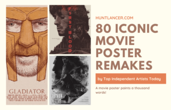 Iconic Movie Poster Remakes by Top Independent Poster Artists Today